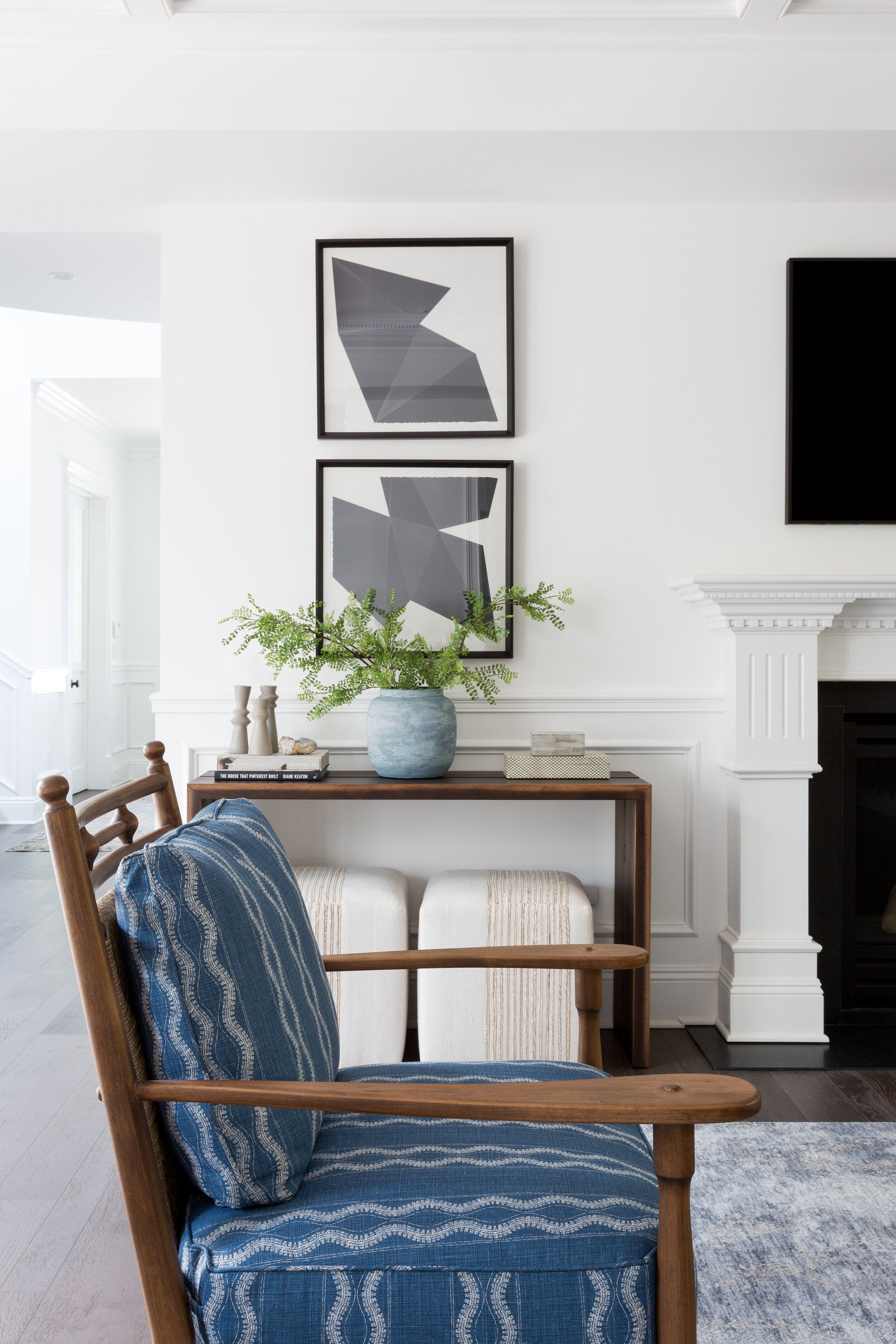 Living + Dining Room: Brentwood Project | Casual living ...