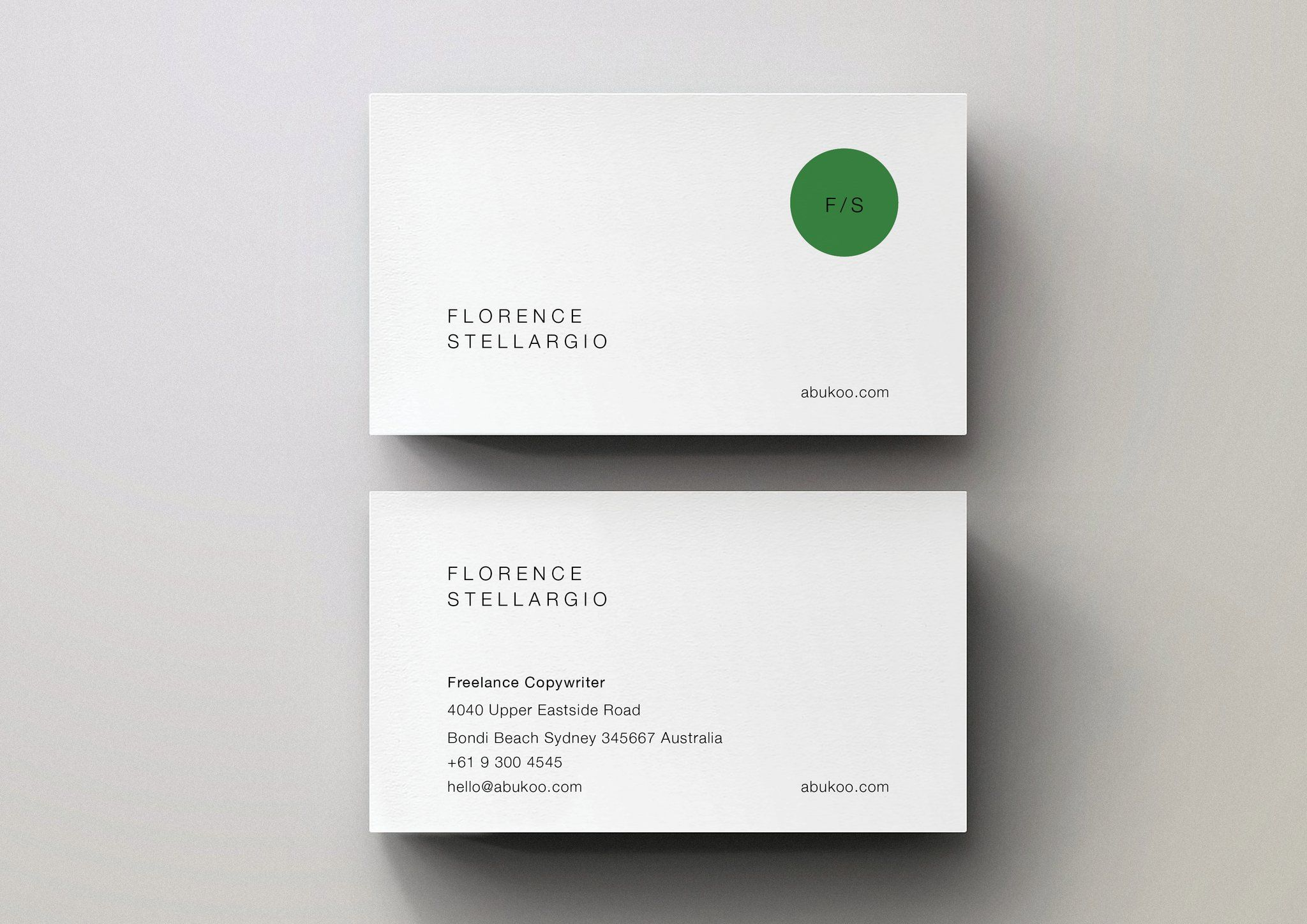 Minimal Business Cards | Pinterest | Minimal business card, Business ...