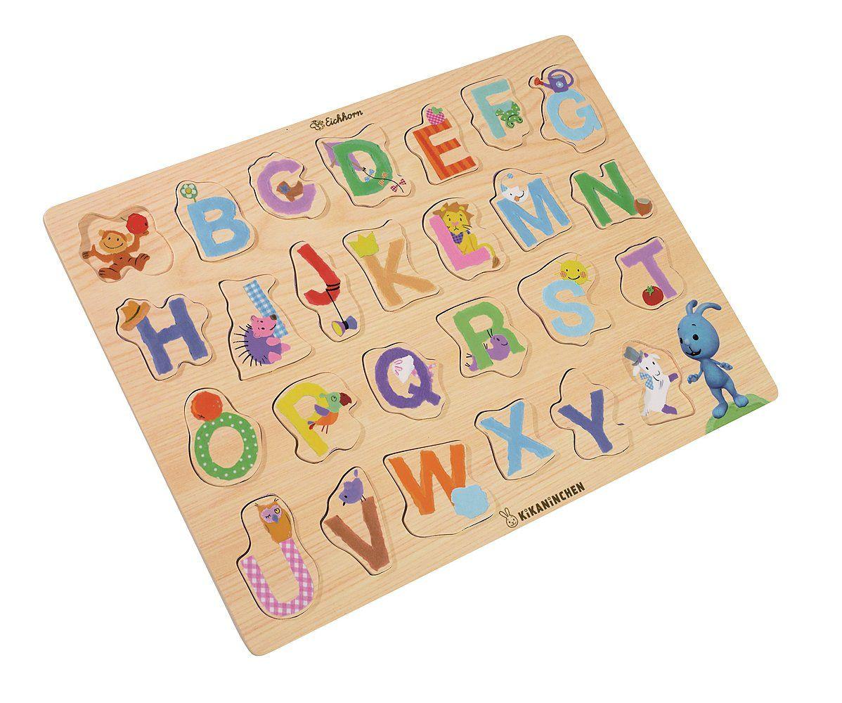 Kikaninchen Buchstaben Puzzle Geschenke Für Kinder Lass Dich