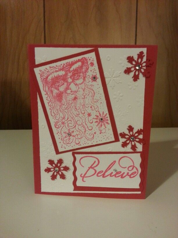 Believe! | Christmas Cards | Pinterest | Christmas cards and Cards
