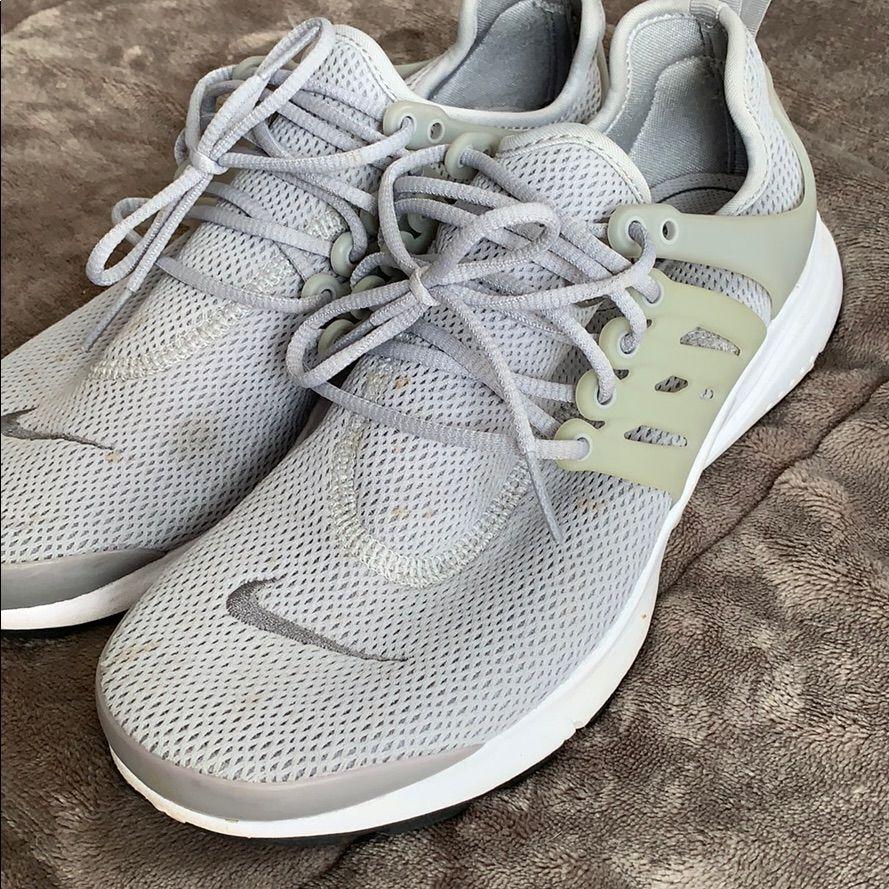 Grey Nike Air Tennis Shoes In 2020 Grey Nikes Tennis Shoes Nike Air