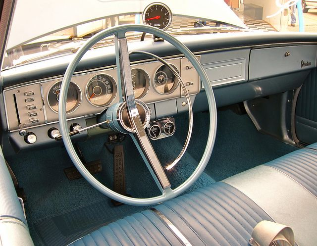 My first car  1964 Belvedere  Look at that push button