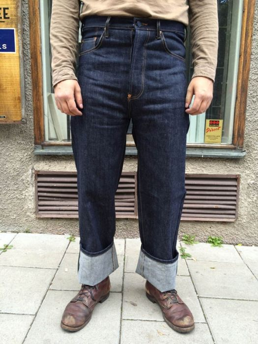 Quartermaster Inspector WWII Jeans Trousers i gruppen ...