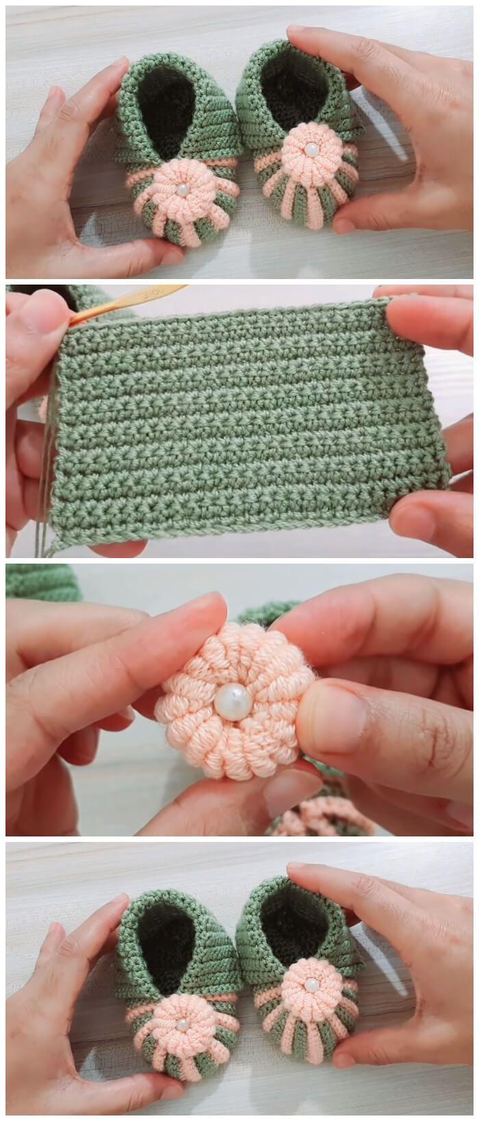 Easy Crochet Baby Shoes - Learn to Crochet - Crochet Kingdom