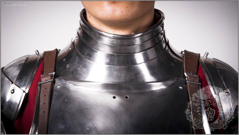 Body armor : Maximilian gorget