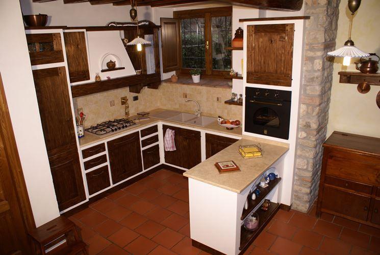 Emejing Cucine In Muratura Con Forno Ad Angolo Gallery - Design ...