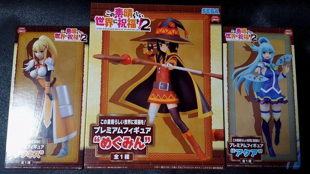 FROM JAPAN KonoSuba Premium Figure Megumin Sega