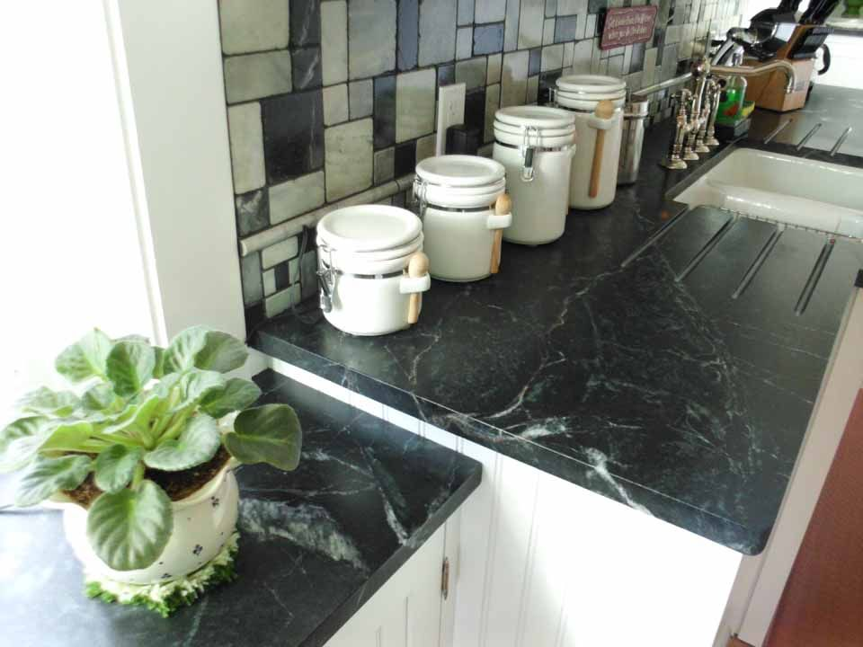Love The Backsplash They Paired With The Porto Alegre Soapstone