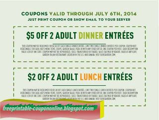 olive garden lunch coupon nov 2019