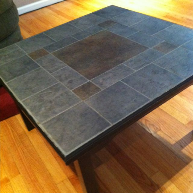 Pin By Carrie Serati Gobble On Crafty Diy Table Top Tiled Coffee Table Sale Table