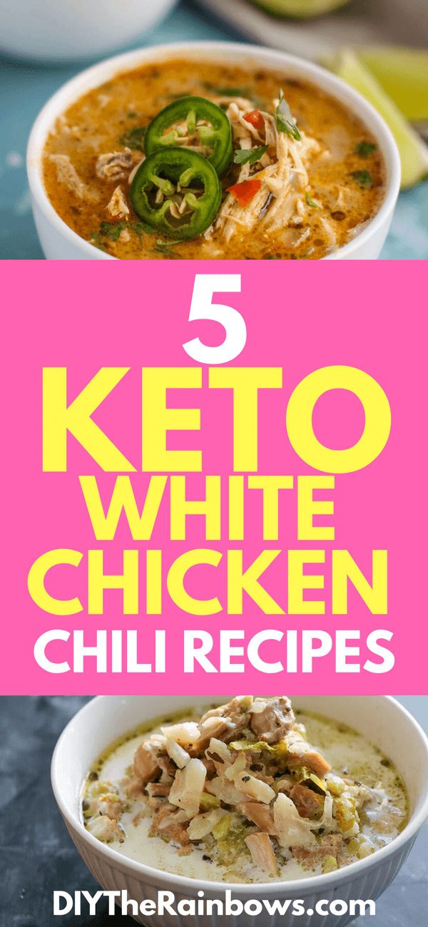 5 Keto White Chicken Chili Recipes: The Best Food for a ...