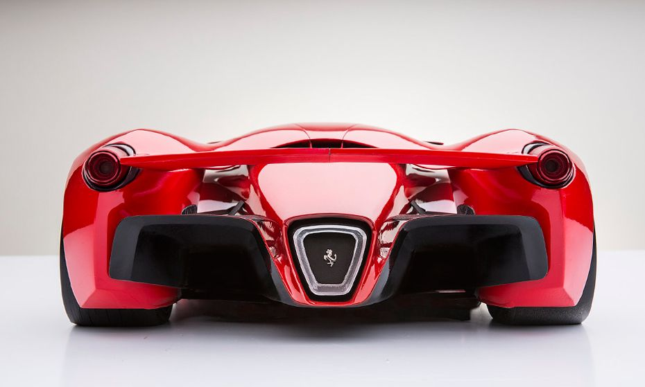 Ferrari Supercar Concept Rear Down Awesome Cars Pinterest