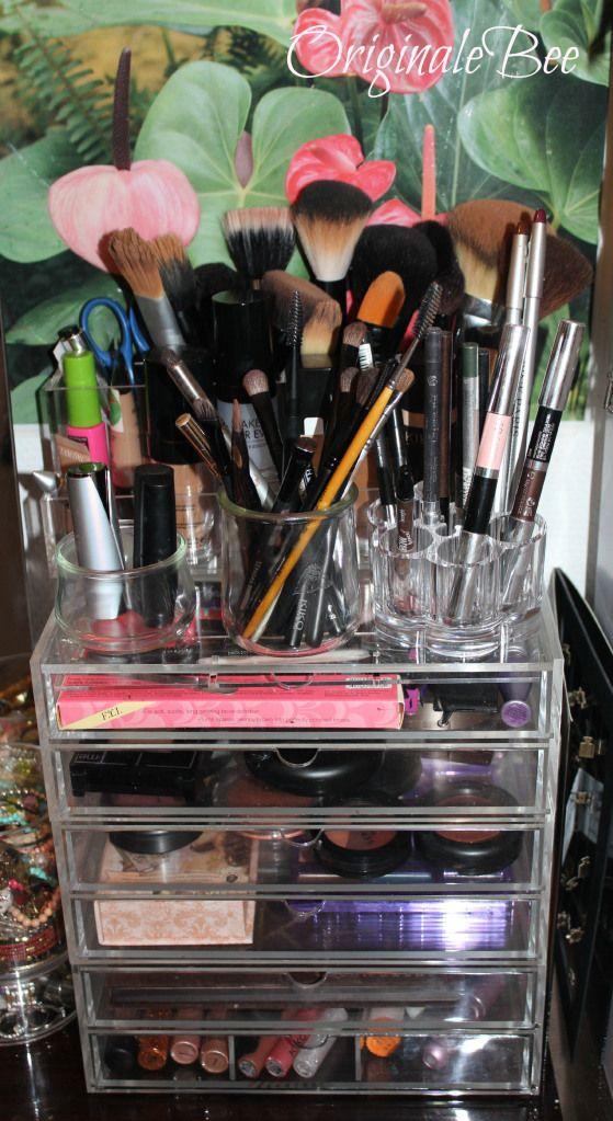 mon rangement maquillage dressing pinterest. Black Bedroom Furniture Sets. Home Design Ideas