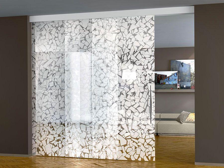 Eleganti pareti divisorie scorrevoli in vetro per abitazioni interior design pinterest - Parete divisoria casa ...