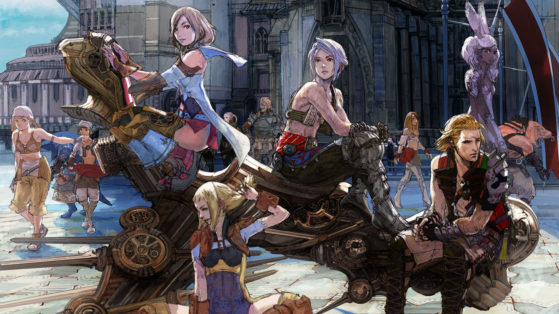 Pin By Blue Actarus On Video Game Artworks Final Fantasy Xii