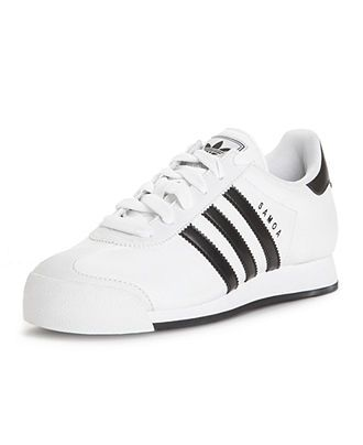 premium selection f3737 9a8ff adidas Women s Shoes, Samoa Leather Sneakers - Sneakers - Shoes - Macy s