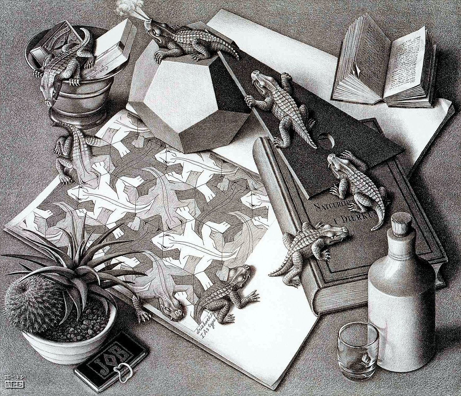 WOODCUTS AND LITHOGRAPHS - echoing patterns, space and transformation