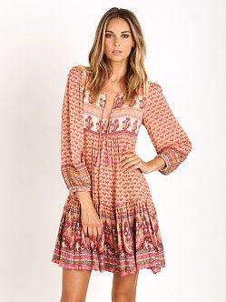 108c9bb1fce Spell Sunset Road Boho Dress Peach