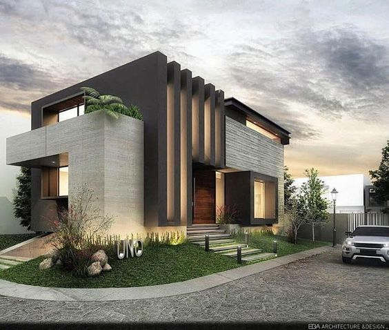 Pin By Mohamed O On Modern Villas: Pin De Wafaa Hotait Em Villa Designs Em 2019