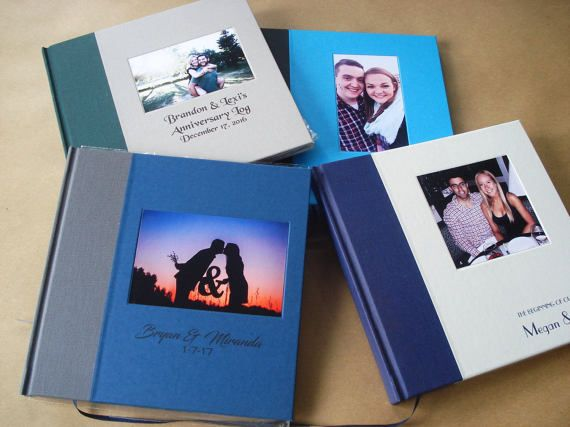 Custom Scrapbook Wedding Photo Album Photo Booth Guest Book