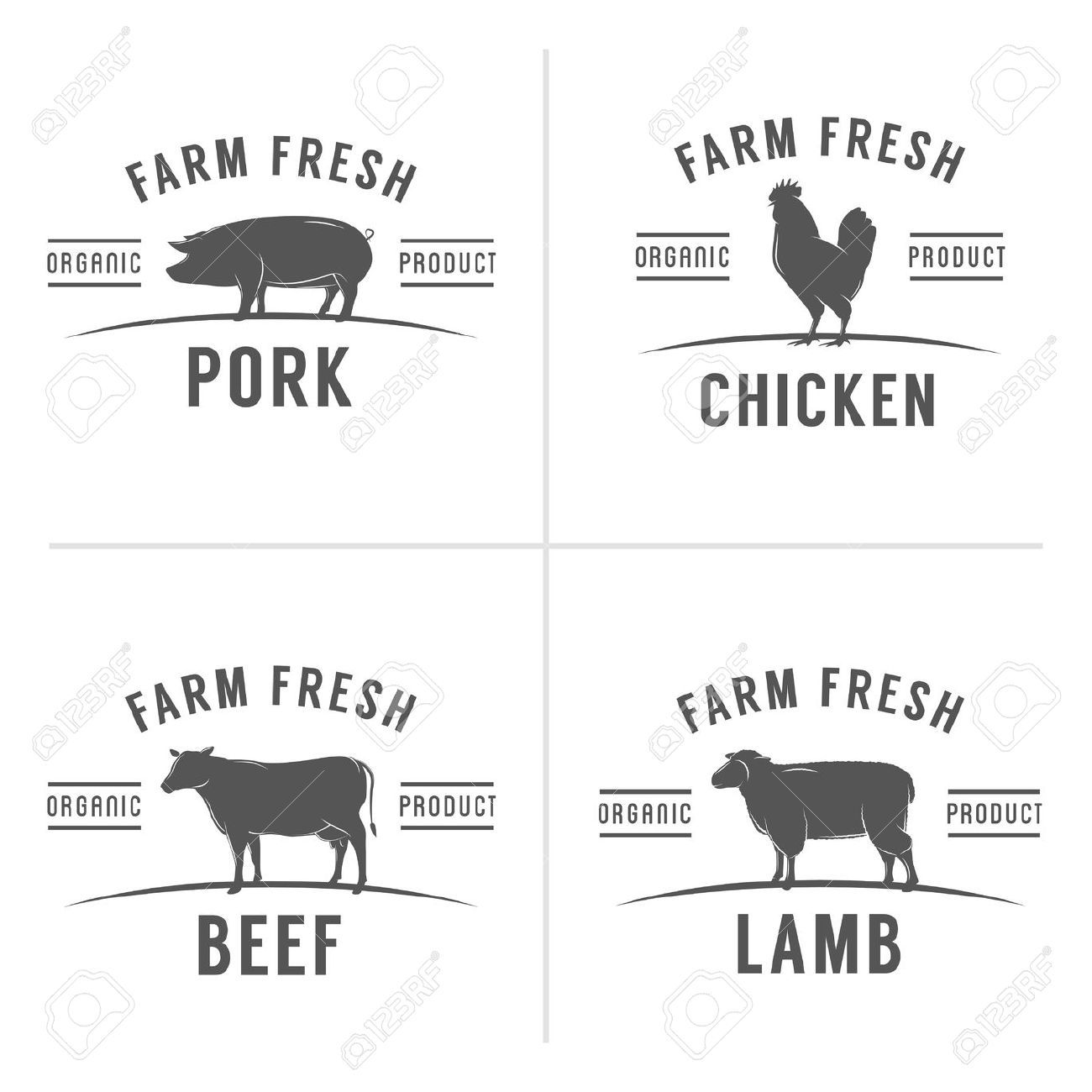 Cow And Pig Clipart
