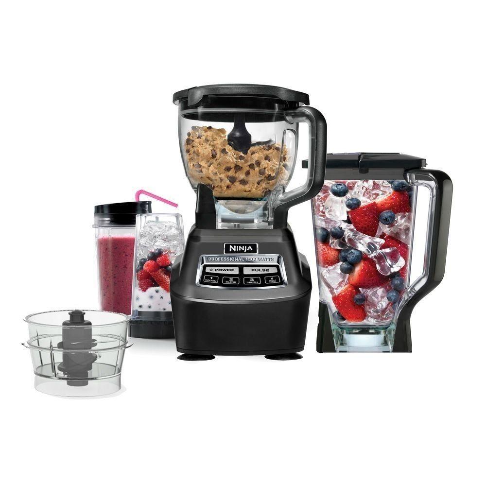 Euro pro ninja bl771 1500w 2 hp mega kitchen system