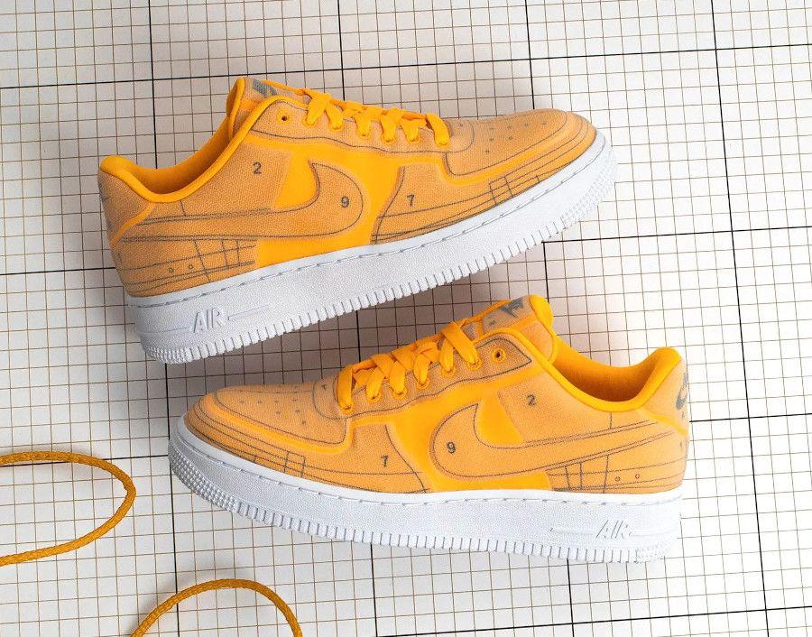 Nike Air Force 1 07 Orange DR SWAG