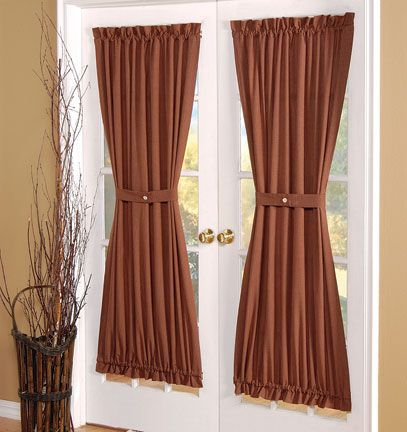 Hourglass Panels for French Doors & Hourglass Panels for French Doors | My little curtain business ... pezcame.com