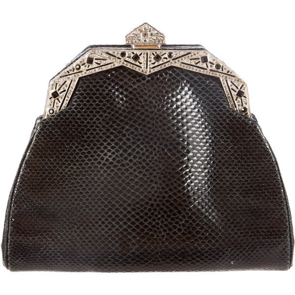 Judith Leiber Pre-owned - Leather clutch bag 9pTN3fqL