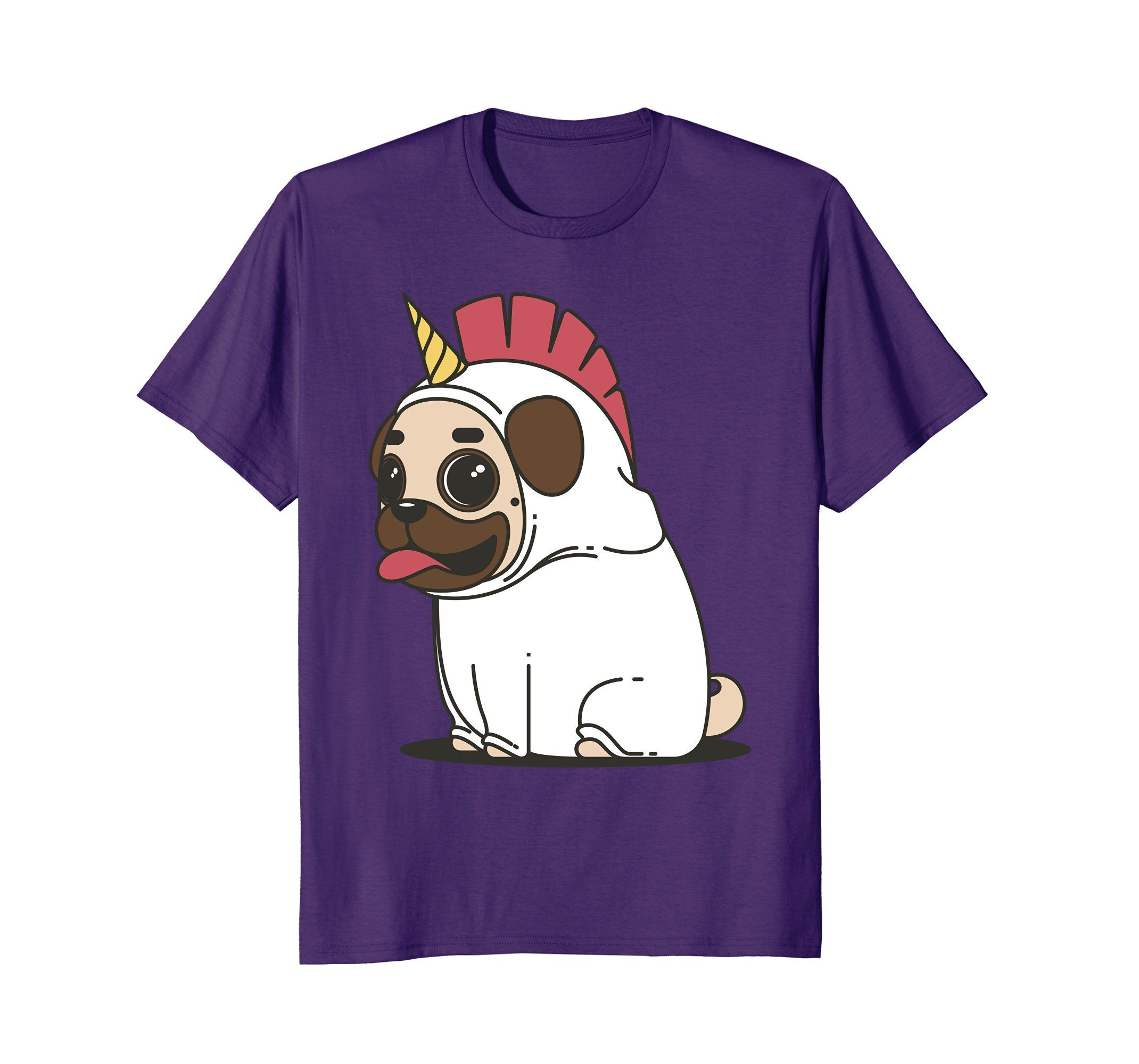 Amazon Com Cute Pugicorn Shirt Unicorn Pug Dog Funny Sleep Meme