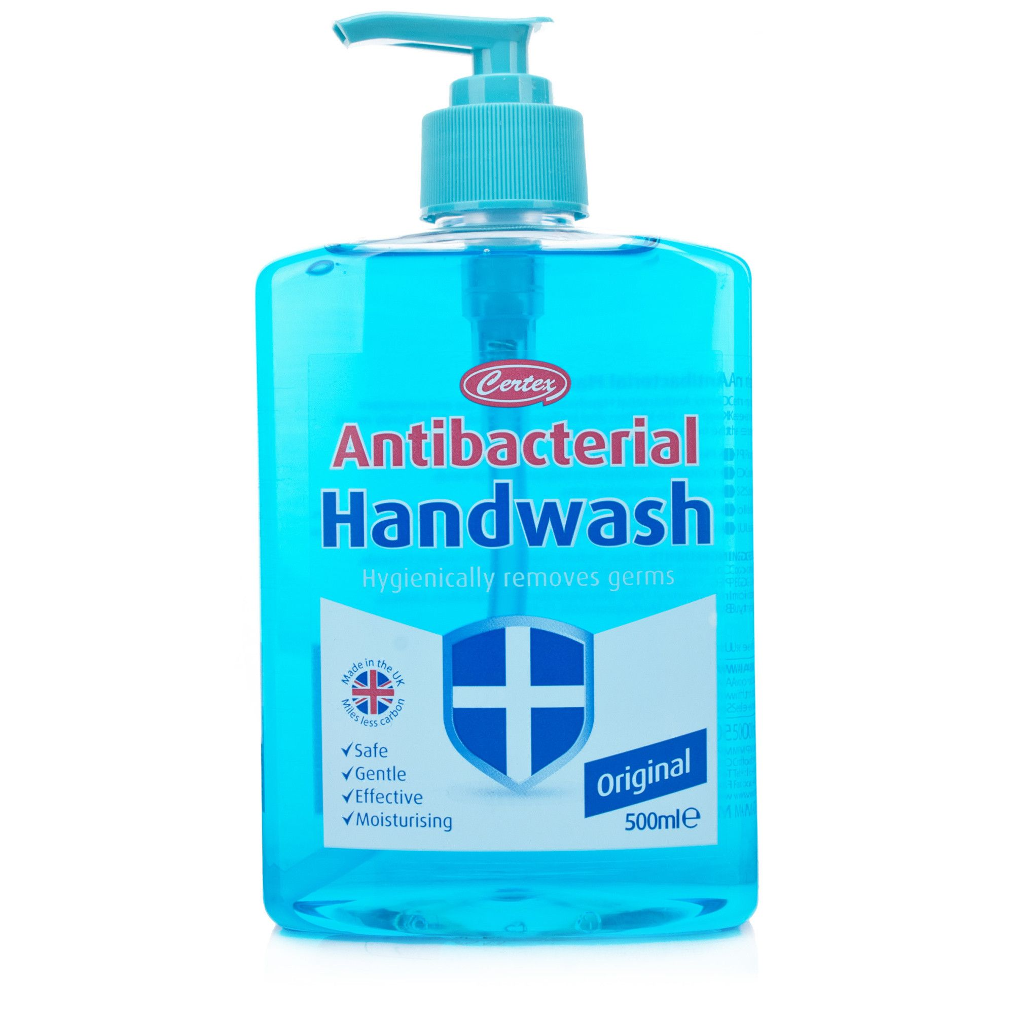 Certex Antibacterial Handwash Blue 12 Pack Clean Fragrance