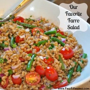 Two Fit Moms Recipe: Our Favorite Farro Salad