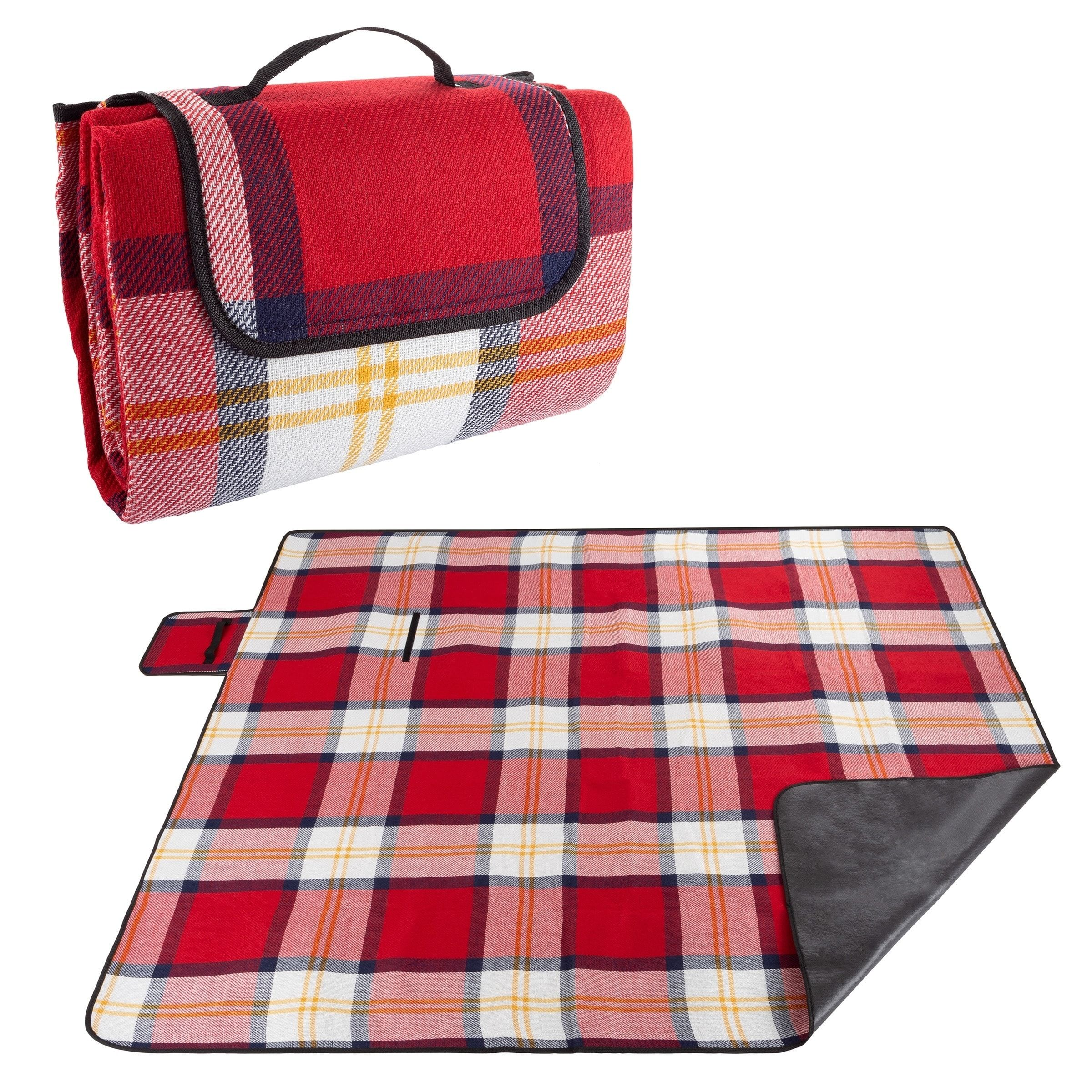 Waterproof Picnic Blanket With Foam Padding By Wakeman Outdoors
