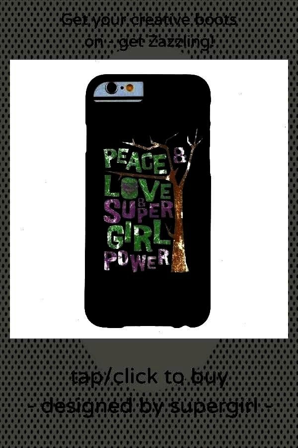 Power Barely There iPhone 6 CasePeace Love & Supergirl Power Barely There iPhone 6Love & Supergirl