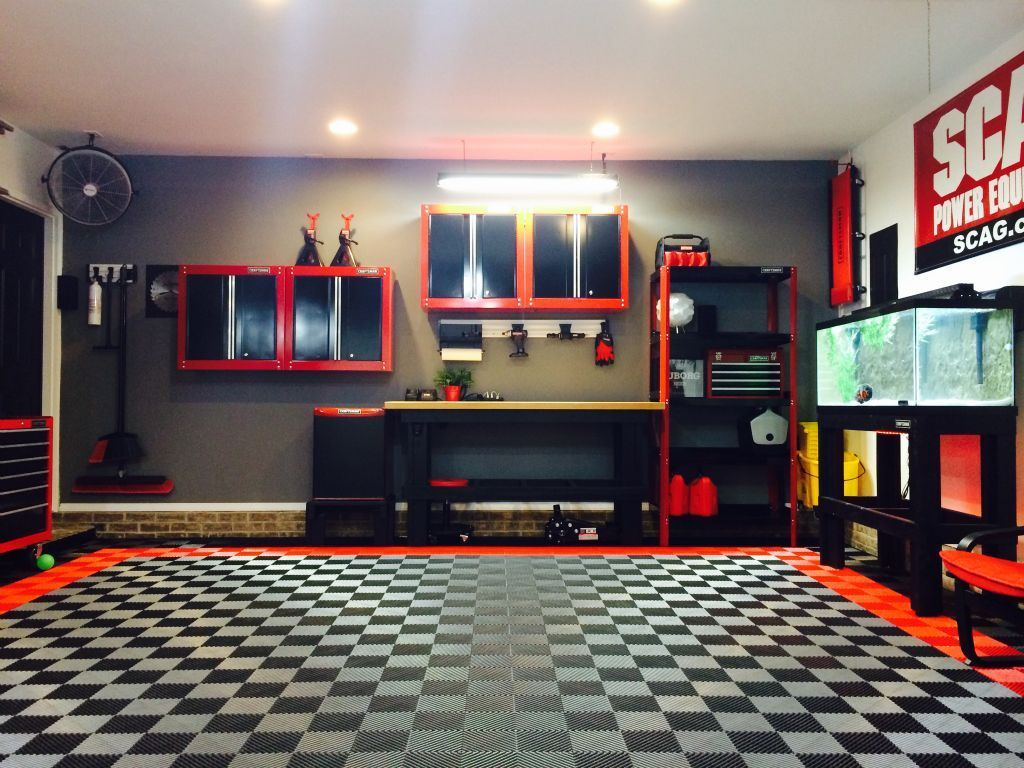 Bobber Brothers Garage Workshops Diy Custom Interior Design Furniture And Bobber Brothers Garage Works Garage Interior Garage Design Garage Tile