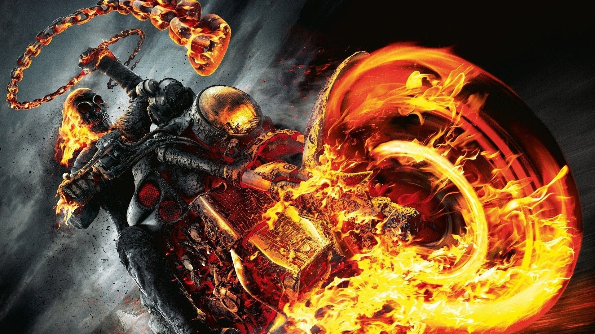 1920x1080 Ghost Rider A Hd Wallpaper Background Id 305962 Ghost Rider Wallpaper Ghost Rider Bike Ghost Rider 2