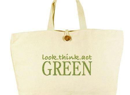 Cloth Shopping Bag Eco Friendly Tote Bag Environmentalist Graphic Tote Bag