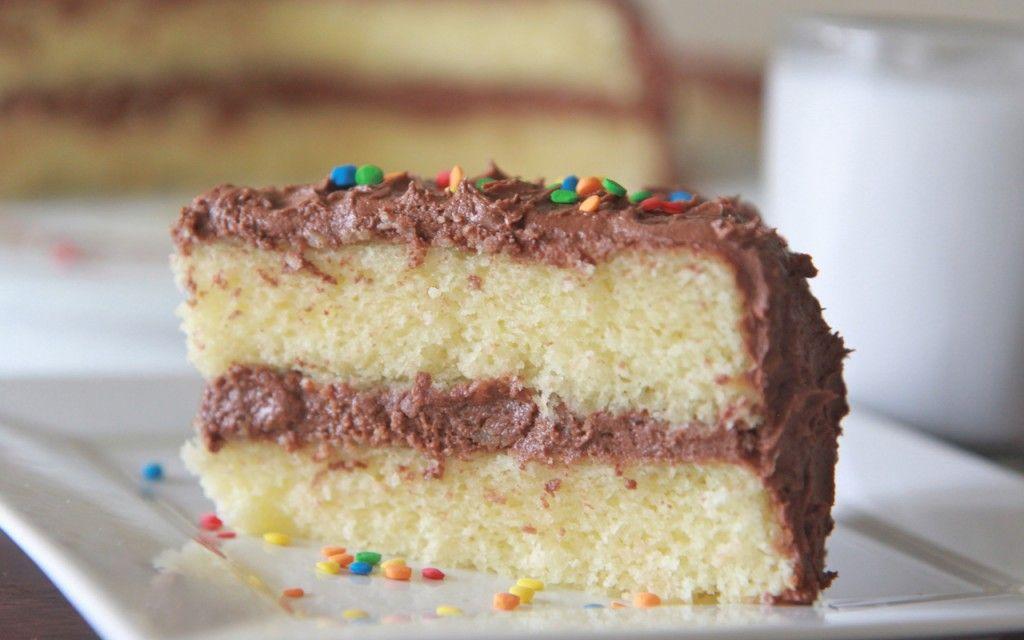 Fluffy Moist Homemade Yellow Cake Recipe Divas Can Cook Recipe Yellow Cake Recipe Homemade Yellow Cake Moist Yellow Cakes