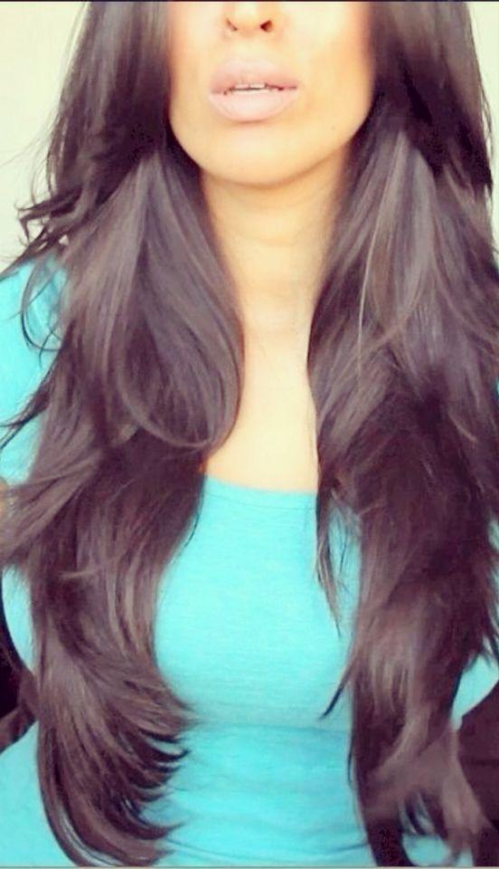 Virgin Brazilian Hair With Silk Base Closure Http Www Sinavirginhair Com Brazilian Peruvian Malaysian In Hair Styles Long Layered Haircuts Long Hair Styles