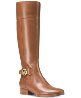 575af860dccc Michael Michael Kors Harland Wide Calf Riding Boots - Black 9.5M ...