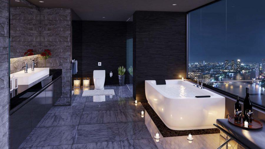 View Bathroom Designs Spectacular Bathroom Design With A View  Bathroom Designs Modern