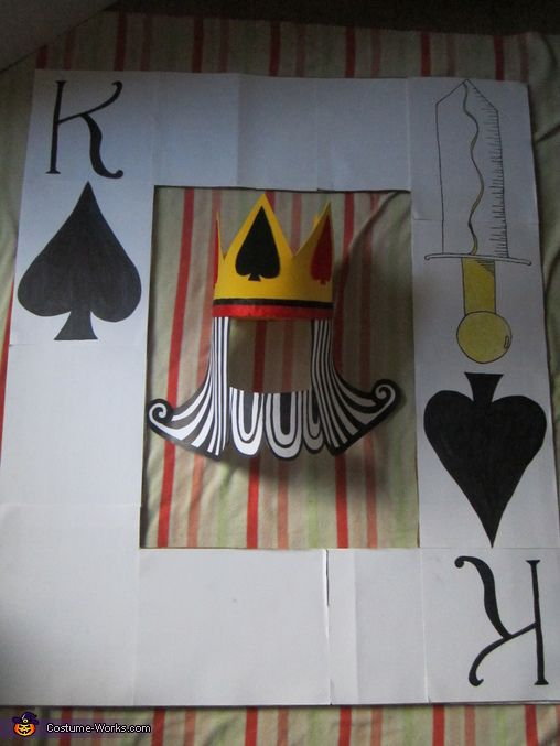 Mardi Gras fnt Adult King and Queen of Hearts Playing Card Couples Costumes