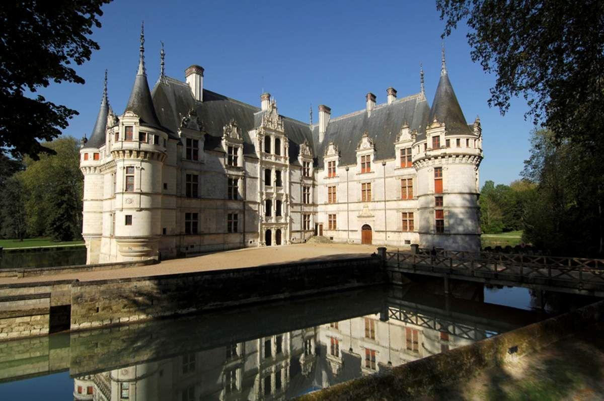 Ch teau d 39 azay le rideau pays de la loire and centre pinterest castles pays de la loire - Visite chateau azay le rideau ...