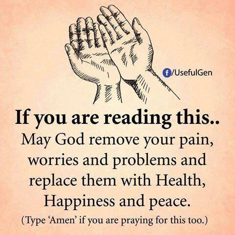 Quote #UsefulGen #reading #God #remove #pain #worries