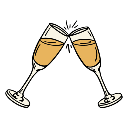 Champagne Glasses Illustration Ad Champagne Illustration Glasses Business Vector Illustration Champagne Glasses Illustration