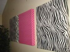 put opposite design as initial  ....  solid pink on zebra  .....zebra on pink canvas..