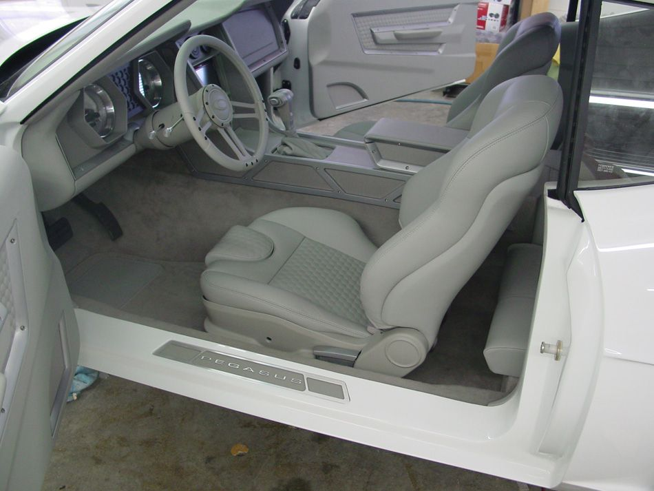 Pegasus Street Rod Style Upholstery Dash Door Panels And Console To The