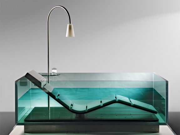 Charmant 6 Cool, Clear Bathtubs | Spot Cool Stuff: Design