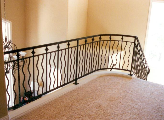 Iron Stair Rails And Banisters | ... Metal Gates San Francisco Bay Area,