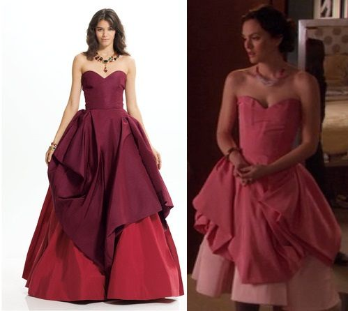 "Oscar de la Renta ballgown as featured in Gossip Girl episode ""Pretty in Pink"" - Ivy my sister the vampire"